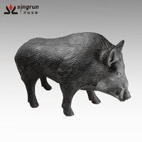 Wholesale 3D PU Foam Animal Pig/Boar/Hog Shooting Hunting Target 3d Archery Targets