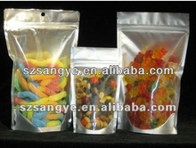 Food Grade Colourful Fantastic Promotional small mesh zipper bags
