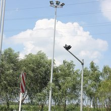 Top grade hot sell bronze metal lamp pole