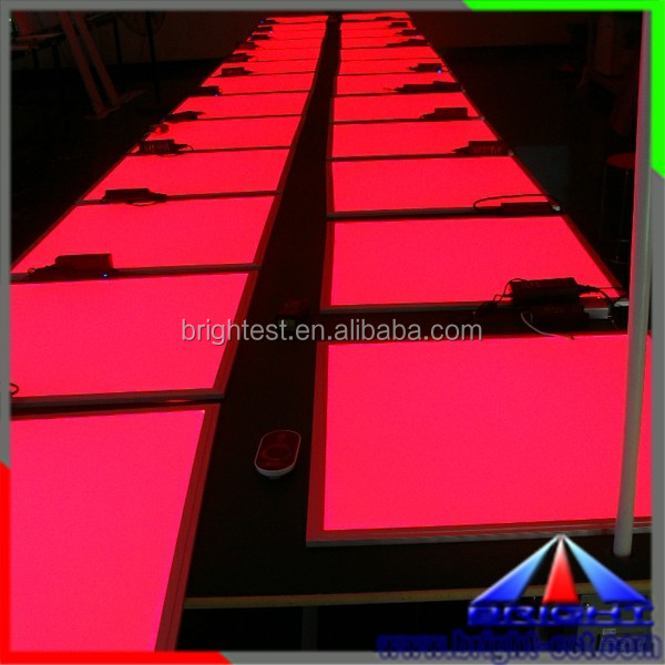 Hot Selling 600 600mm RGB LED Panel Light, RGB LED Ceiling Panel Light