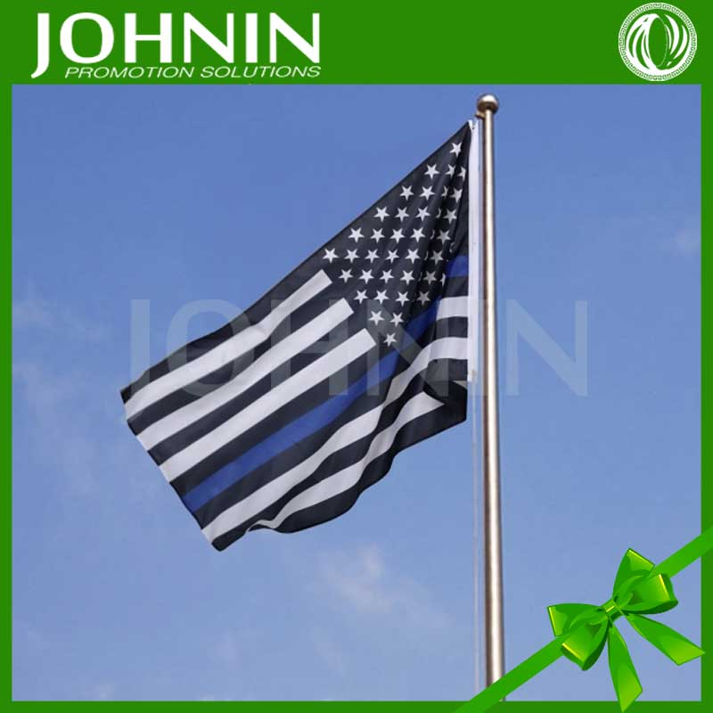 Hot Selling Cheap Price Promotional Thin Blue Line American Flag