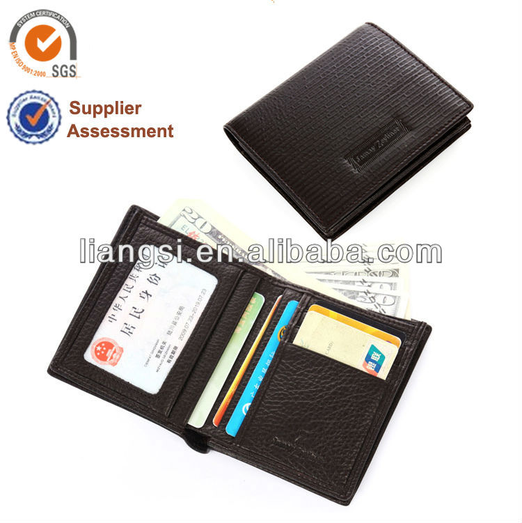 Genuine Leather Fashion Zip Around Wallet