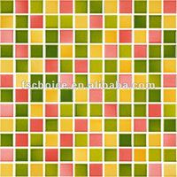 colorful square ceramic mosaic tiles for floor and wall,cheap mosaic tiles