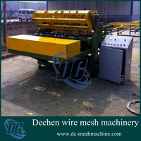 CNC Full Automatic Chicken Pigeon Cages Mesh Welding Machine 2-3.2mm Made in China(wire feeding automatically)