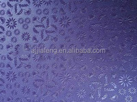 Embossed PVC artificial leather table mat
