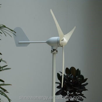 Chinese horizontal axis M Type 300W 12v or 24V small wind turbine on hot sale