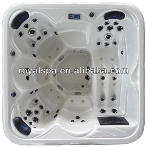 New Style water and air jets combo Outdoor Spa Garden Whirlpool Baths