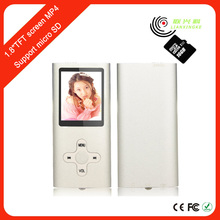 "Portable 1.8"" sd video free mp4 player quran download with FM MP4 player"