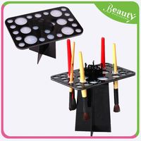 acrylic knife display stand ,H0T046 eyeliner pencil display stand/holder , clear cube makeup box