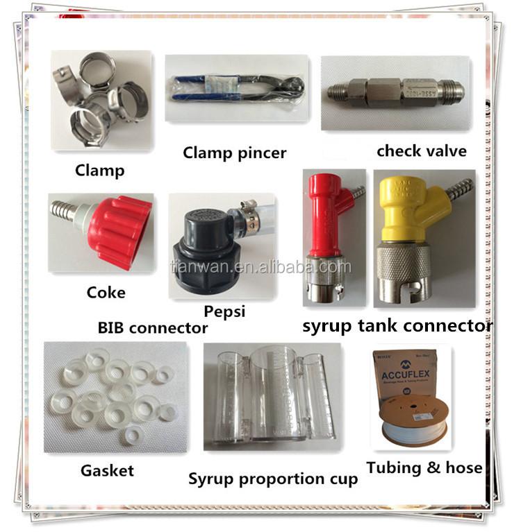 soda machine parts