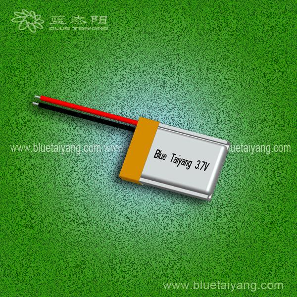 3.7v lithium polymer bluetooth headset battery