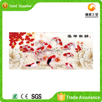 Factory supply beautiful home decoration fish picture 5D diy diamond painting