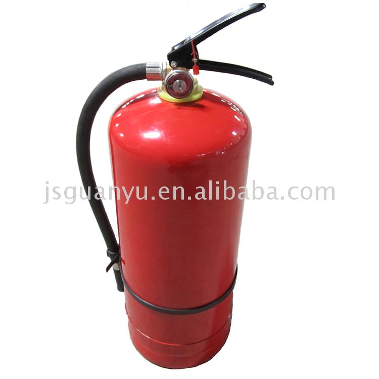 Multi-purpose durable 50kg abc round dry powder 6kg fire extinguisher
