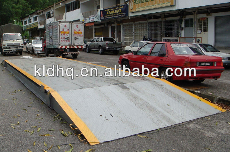 China high quality portable truck axle scales manufacturer