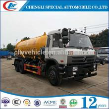 Good Design sewage transport truck sewer cleaning vacuum cleaner water tank