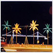 outdoor palm tree lights, palma de coco luz led
