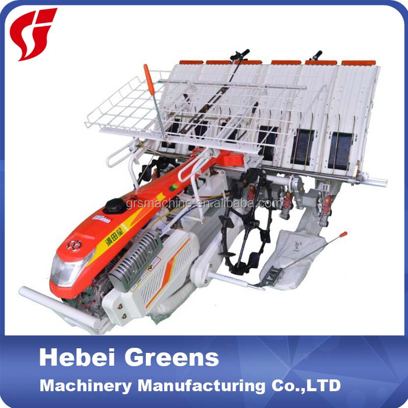 automatic rice planting machinery/manual rice paddy planting machinery