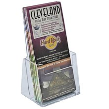 "Brochure Holder 6"" Wide Half Page Acrylic Literature Brochure Holder"