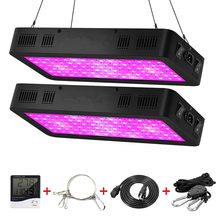 Double Switch IR&UV COB Dimmable Full Spectrum 600W 1000W 1200W Greenhouse Led Grow Light