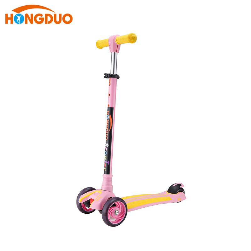 Customization easy cheap Pink child kick scooter HD-S920R