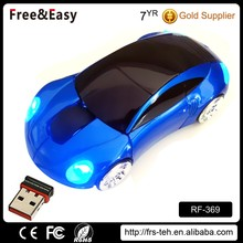 New fashion sports car 3D wireless car mouse
