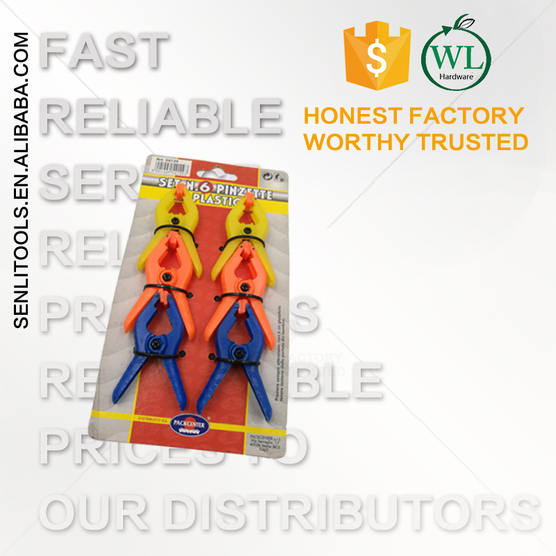 Hot sale high quality cheap price Plastic Spring Clips 3inch 2inch Heavy Duty Spring Clamps set