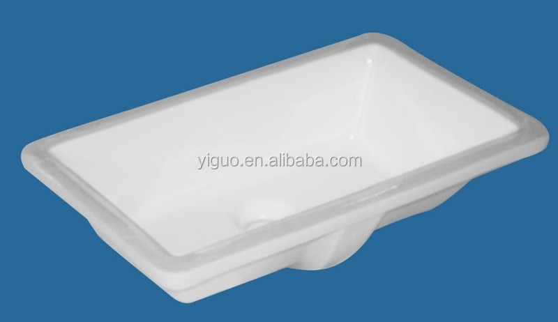 Ceramic sink bathroom undercounter wash basin 1911 Yiguo