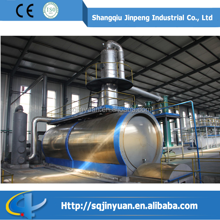 Extracting Diesel from Used Motor Oil Recycling Distillation Plant