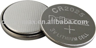 lithium battery CR2025 3v coin cell