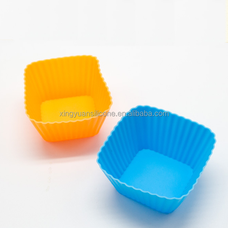 Fation Design Silicone Cake Molds Food Grade Silicone Cup cake Moulds silicone cake pops mould