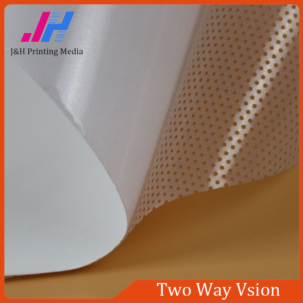 PVC Material Two Way Vision Glass Covering Film