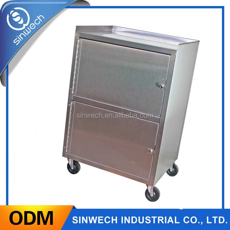 Professional OEM custom high precision brushed sheet metal box