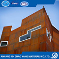 wooden prefab homes FE510C1K1 corten steel price per kg