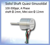 Waterpoof plug solid shaft encoder nemicon optical encoder