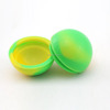 thermostable ball shape grease storage container silicone cosmetic jar silicone medicine jar 38mm 6ml jar