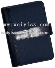 2012 new design fabric notebook with pages