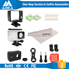 Low Price Waterproof Case Xiaomi Yi 2 4K Action Sport Camera Accessories Kit Factory