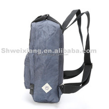 Canvas material backpacks modish pack bag waterproof computer backpack