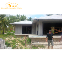 customized Norway good insulation A1 fireproof european style CE Prefab House