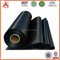 0.75mm HDPE Waterproof Memebrane Fish Farm Pond Liner For Koi Fish Farm