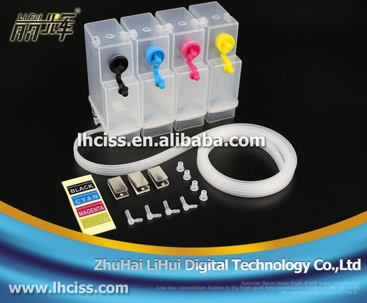 NEW !!Universal continuous ink supply system DIY ciss ink tank for canon hp Epson brother printer