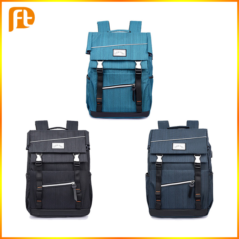 Three Colors Factory promotion stylish waterproof backpack