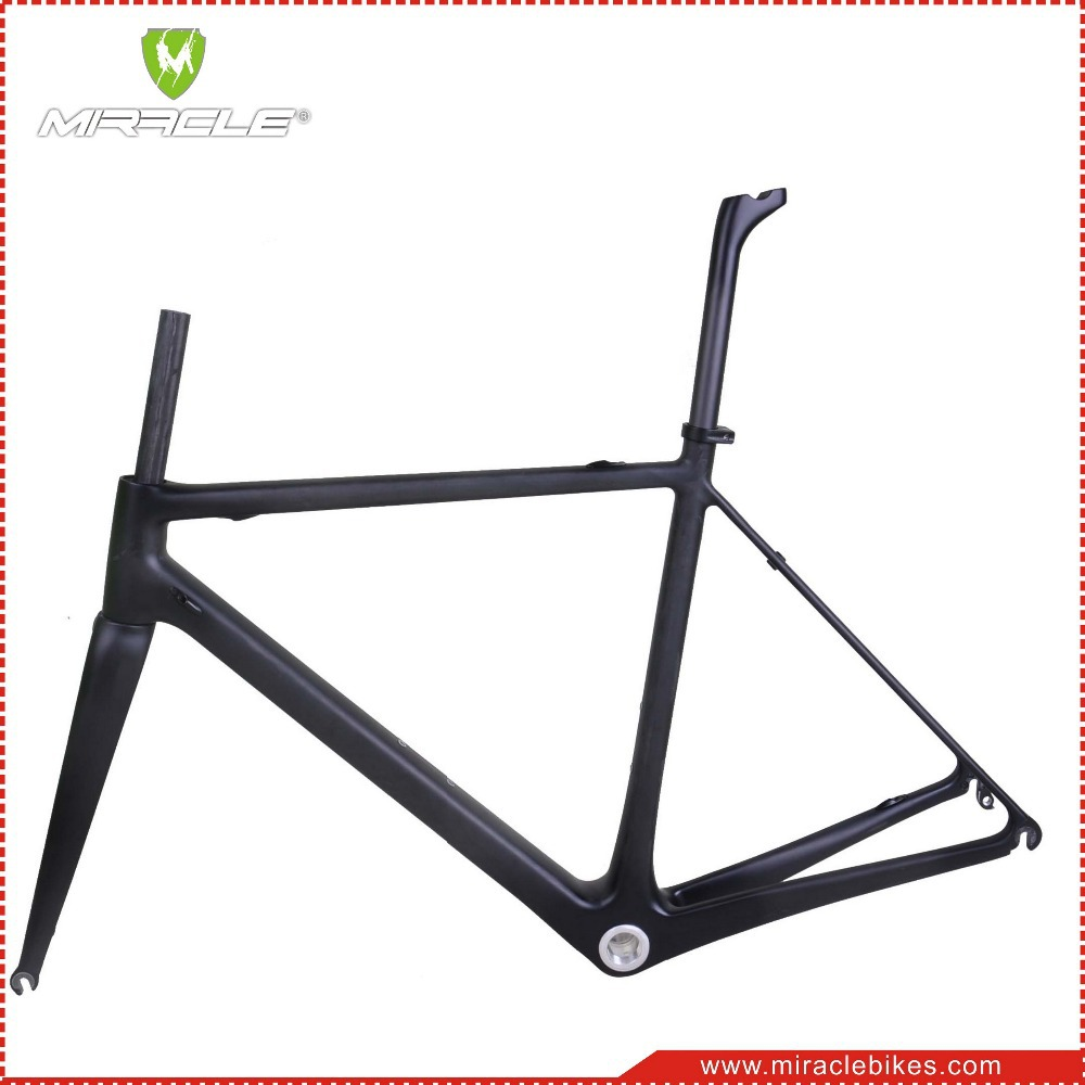 MIRACLE T1000 full carbon fiber road bike frame,chinese carbon bike frame super light