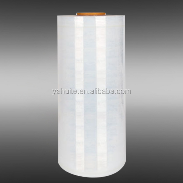 Wrapping pallets plastic stretch film