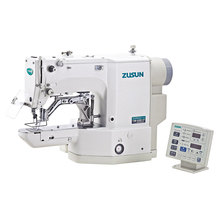 Electric Programmable Automatic Button Attaching Bartacking Sewing Machine