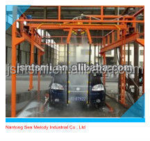 hot galvanizing no brush two arms automatic car wash
