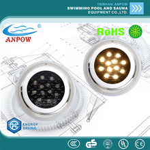 ANPOW swimming pool colorful under water light Led pool light