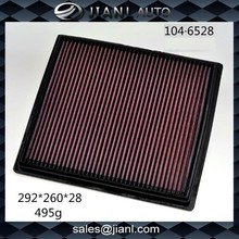 104.P.6528 Car Air Filter fit for Buick / Auto Parts Filter Manufacturer