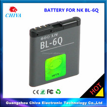 bl-6Q bl6Q phone battery for nokia,For Nokia 6700c bl-6Q bl6Q battery for nokia