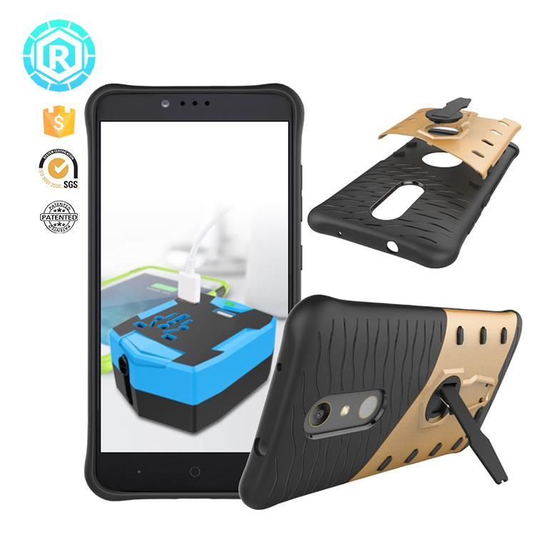 Anti-Knock Shockproof tough tpu phone cover case for ZTE Zmax pro
